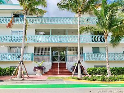 Miami Beach Condo For Sale: 260 Ocean Dr #12