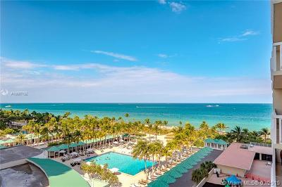 Bal Harbour Condo For Sale: 9801 Collins Ave #9G