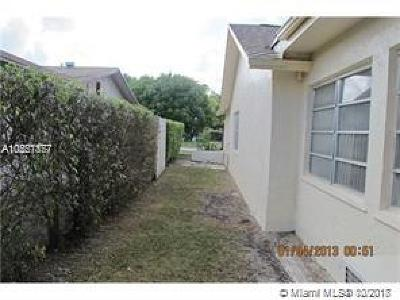 Broward County Single Family Home For Sale: 8221 NW 48th St