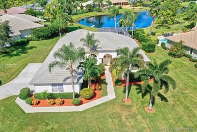 Jupiter Single Family Home Active With Contract: 6025 Fountain Palm Dr