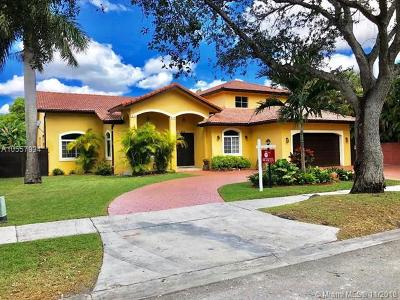 Miami Lakes Single Family Home For Sale: 8315 NW 163rd St