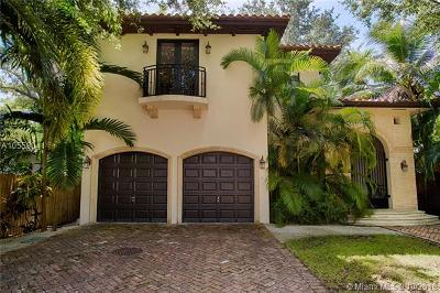Coconut Grove Single Family Home For Sale: 3621 Le Jeune Rd