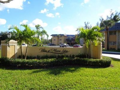Miami Lakes Condo For Sale: 7480 Miami Lakes Dr #G306