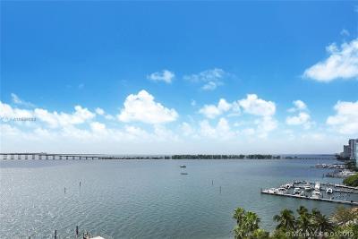 Brickell Harbour, Brickell Harbour Condo Condo For Sale: 200 SE 15th Rd #11j
