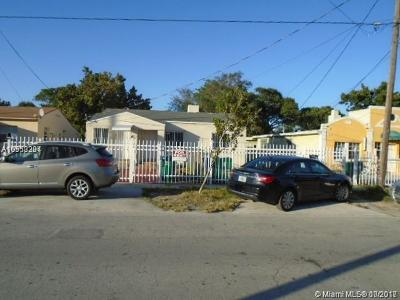 Miami-Dade County Multi Family Home For Sale: 1245 NW 30th St