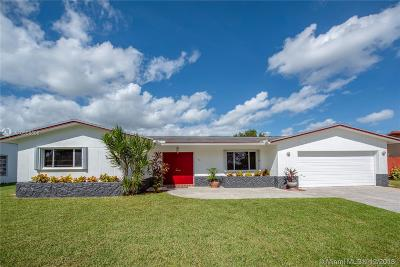 Pembroke Pines Single Family Home Active With Contract: 11521 Taft St
