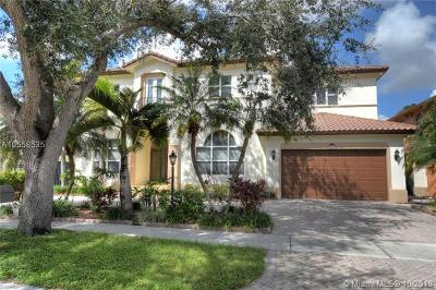 Miami Lakes Single Family Home For Sale: 8465 NW 166th Ter