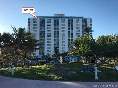 Miami-Dade County Condo For Sale: 6450 Collins Ave #1502