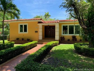 Coral Gables Single Family Home For Sale: 600 San Antonio Ave