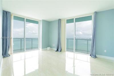 Miami Condo For Sale: 1900 N Bayshore Dr #3815