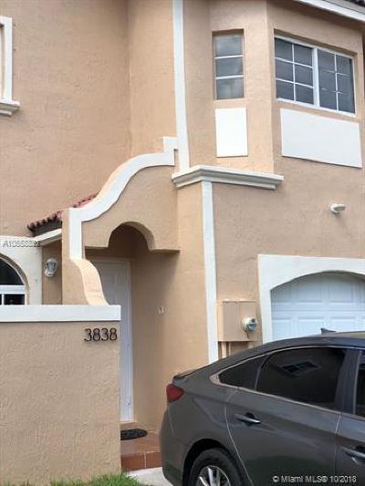 Miami Condo For Sale: 3838 SW 153rd Ct