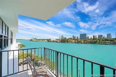 Bay Harbor Islands Condo For Sale: 10101 E Bay Harbor Dr #508