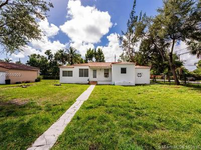 Miami Shores Single Family Home For Sale: 190 NW 100th St