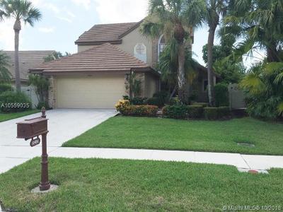Boynton Beach Single Family Home For Sale: 6804 Bitterbush Pl