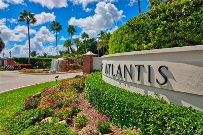 Atlantis Single Family Home For Sale: 542 S Country Club Dr