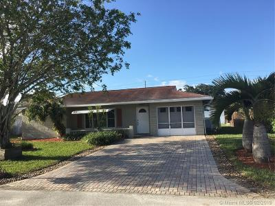 Broward County Single Family Home For Sale: 9402 NW 66th St