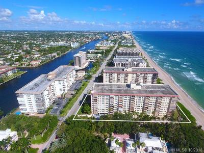 Hillsboro Beach Condo For Sale: 1147 Hillsboro Mile #801
