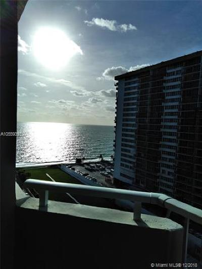 Broward County Condo For Sale: 1980 S Ocean Dr #12N