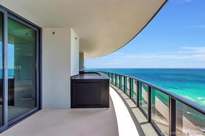 Miami-Dade County Condo For Sale: 18555 Collins Ave #1501