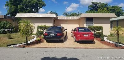 Broward County Single Family Home For Sale: 7201 NW 68th St