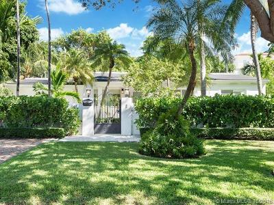 Key Biscayne Single Family Home For Sale: 285 Glenridge Road