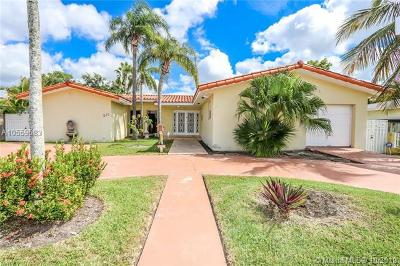 Miami Springs Single Family Home For Sale: 331 East Dr