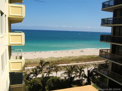 Surfside Condo For Sale: 9499 Collins Ave #704