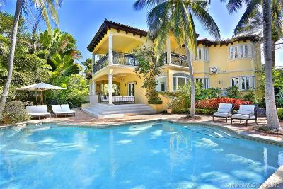 Key Biscayne Single Family Home For Sale: 325 Greenwood Dr