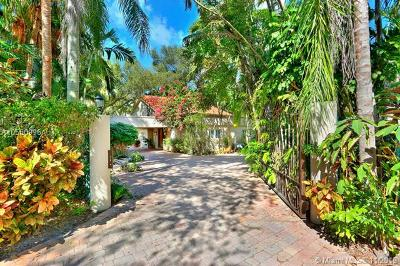 Coconut Grove Single Family Home For Sale: 4325 Lennox Dr