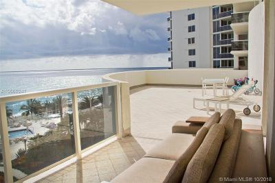 Ocean Two, Ocean Two Condo Condo For Sale: 19111 Collins Ave #504