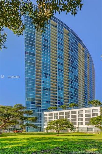 Blue Condo, Blue Condo - Waterfront, Blue Condominium Condo For Sale: 601 NE 36th St #2503