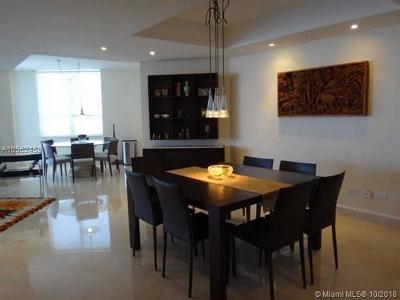 Miami Rental For Rent: 848 Brickell Key Dr #2401