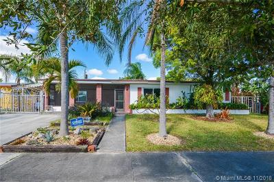 Cutler Bay Single Family Home For Sale: 9871 Jamaica Dr