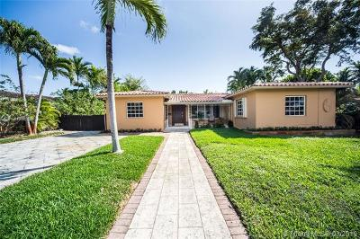 Miami Shores Single Family Home For Sale: 10659 NE 10th Pl