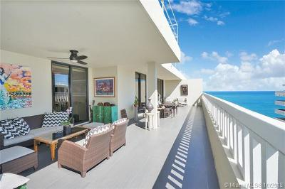 Bal Harbour Condo For Sale: 9801 Collins Ave #PH7
