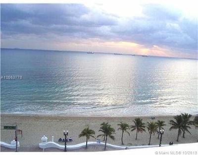 Fort Lauderdale Condo For Sale: 345 N Fort Lauderdale Beach Blvd #501