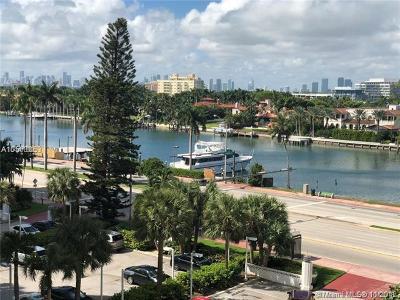 Miami Beach Condo For Sale: 5001 Collins Ave #8E