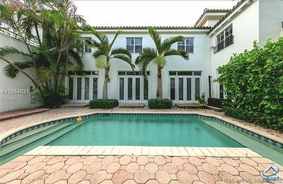 Coral Gables Single Family Home For Sale: 927 Sunset Rd