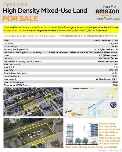 Opa-Locka Single Family Home For Sale: 650 Ali Baba Ave