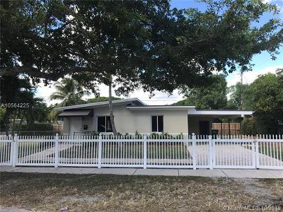 North Miami Single Family Home For Sale: 545 NW 140th Ter