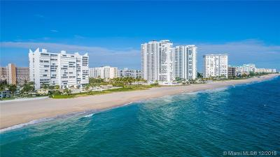 Pompano Beach Condo For Sale: 1390 S Ocean Blvd #11B
