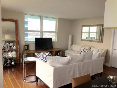 Miami Beach Condo For Sale: 650 West Ave #1702