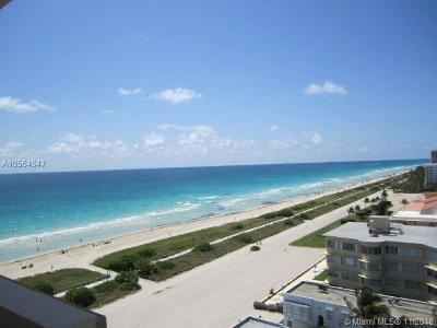 Surfside Condo For Sale: 9195 Collins Ave #PH8