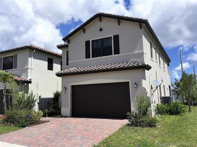 Hialeah Gardens Single Family Home For Sale: 9479 W 32 Lane