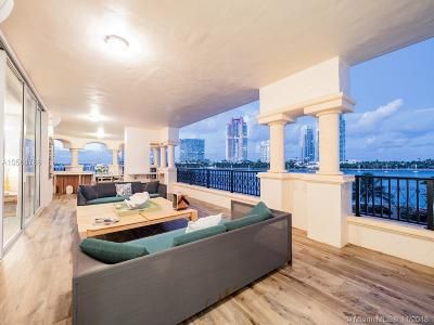 Fisher Island Condo For Sale: 7121 Fisher Island Dr #7121