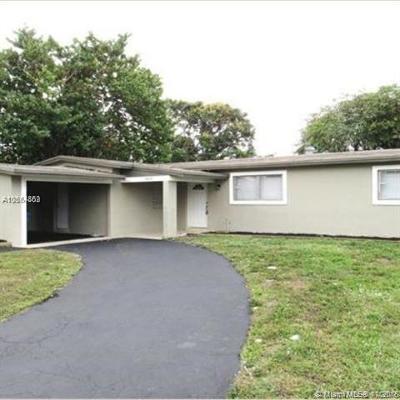 Lauderhill Single Family Home For Sale