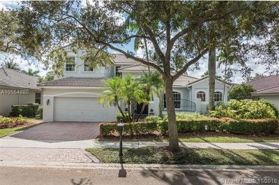 Weston Single Family Home For Sale: 1440 Lantana Ct