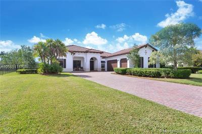 Davie Single Family Home For Sale: 8930 Parkside Estates Dr