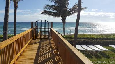 Highland Beach Condo For Sale: 3400 S Ocean Blvd #10J