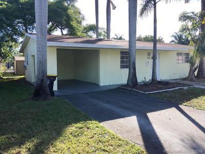 Dania Beach Single Family Home For Sale: 226 NE 5th Ave